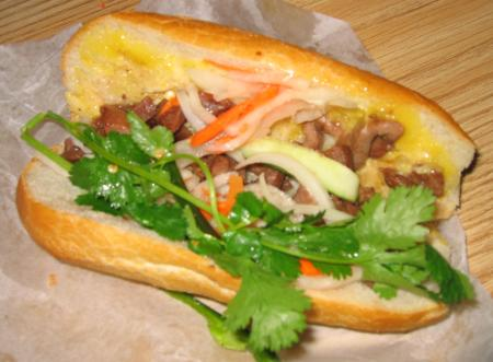 Song Que #8 grilled pork bahn mi